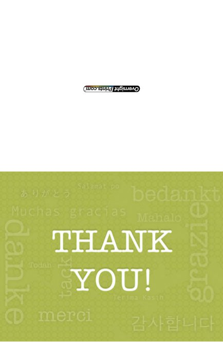 Thankyou_6 Greeting Card (4x55)